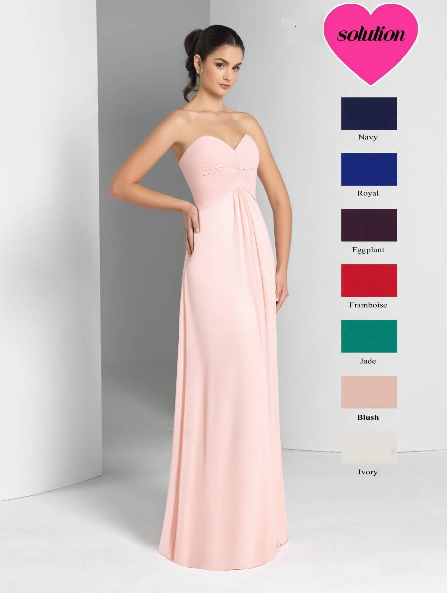 Robe longue demoiselles d 39 honneur marseille mod le for Robes de demoiselle d honneur pour les mariages de novembre