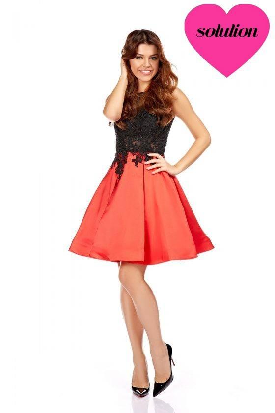 a8637cfd46d robe bicolore de demoiselle d honneur rouge marseille 13006 robe rouge et  noire mariage à marseille centre ville robe en forme ...