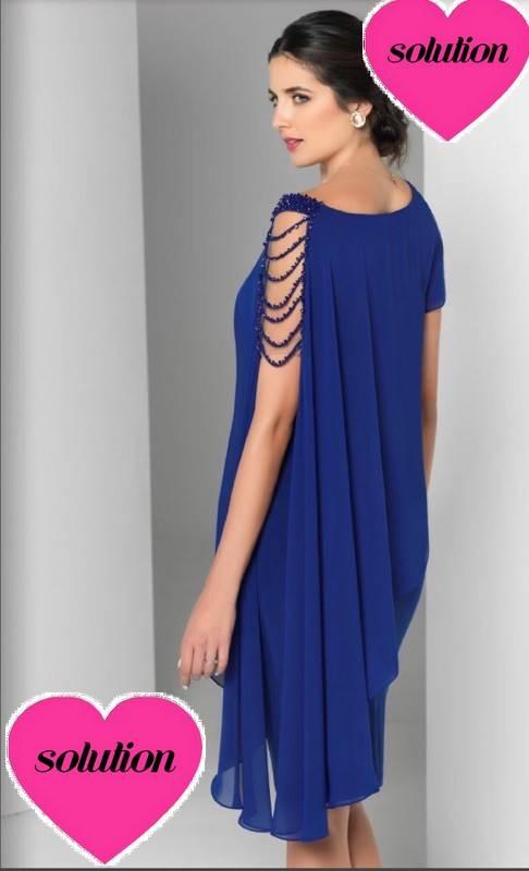 Robe Grande Taille Bleu Marocain C U00c9r U00c9monie  U00e0 Marseille Mod U00e8le Cindy Nouvelle Collection Grande